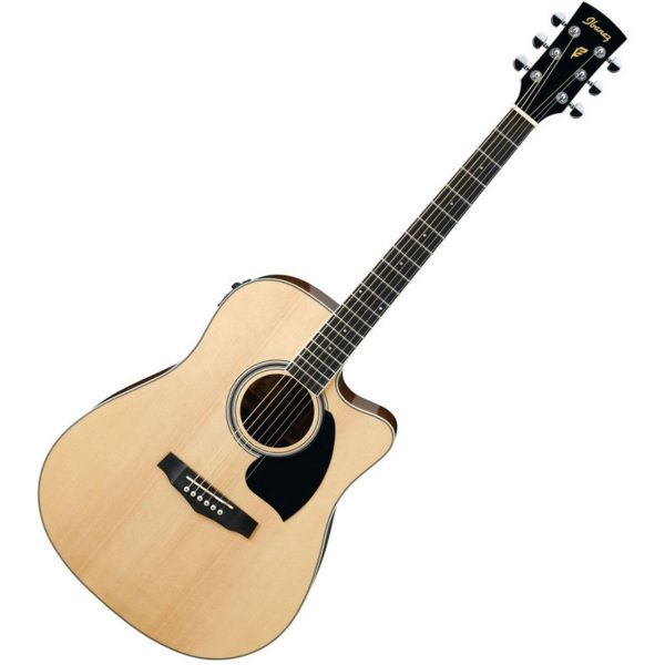 Ibanez PF15ECE-NT  PF Electro-Acoustic Guitar, Natural